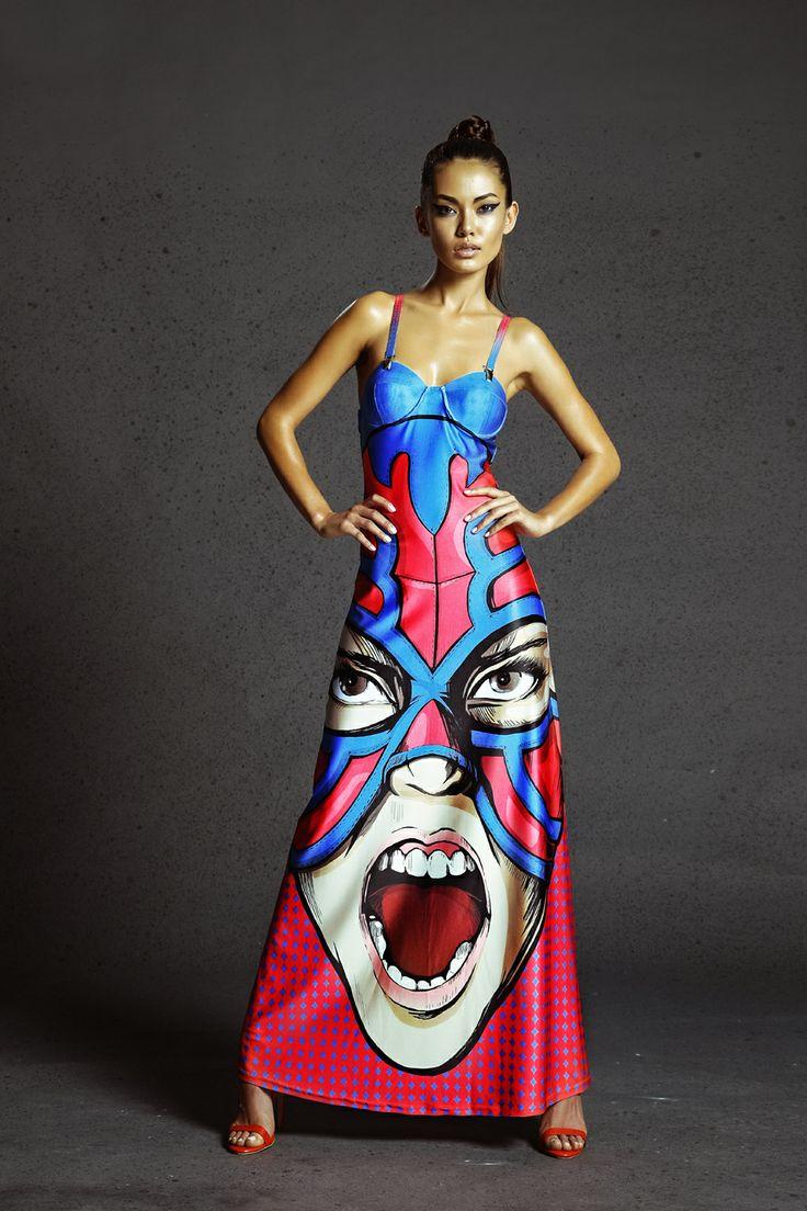 Long dress www.bemytrash.com