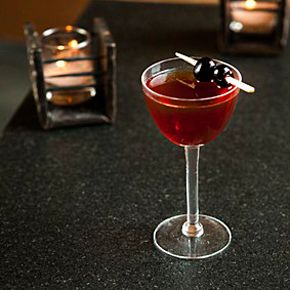 A Rob Roy - I always thought it was what they called a Shirley Temple when served to boys. Who knew?
