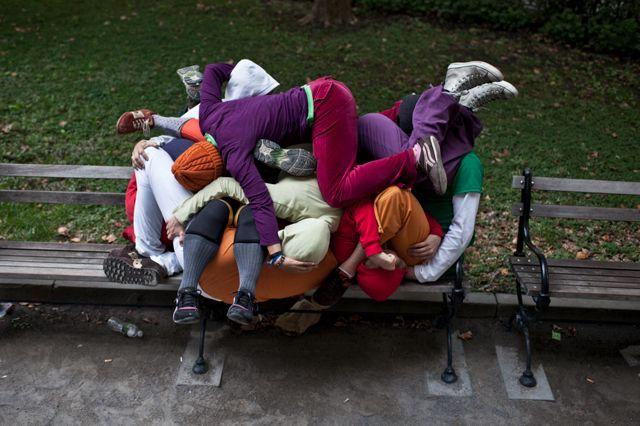 TratoHecho.com: Esculturas humanas en Nueva York