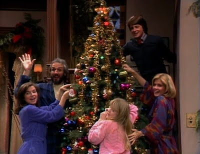 """Family Ties"" (1983) - Episode: A Keaton Christmas Carol"