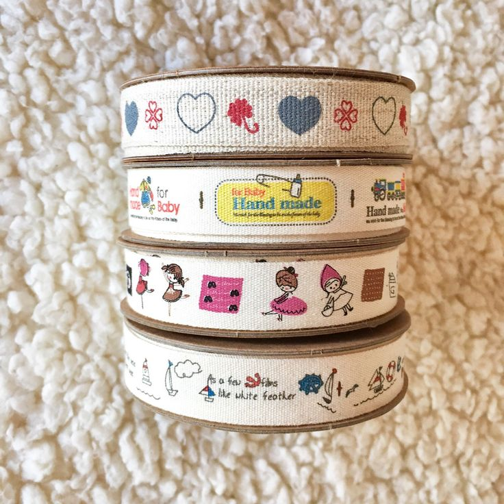 New ribbons in the shop!