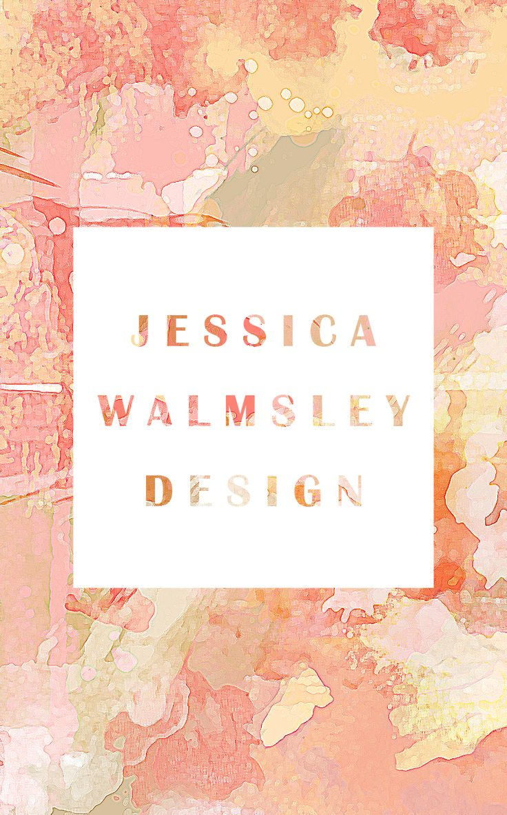 Muted Tones Jessica Walmsley Design