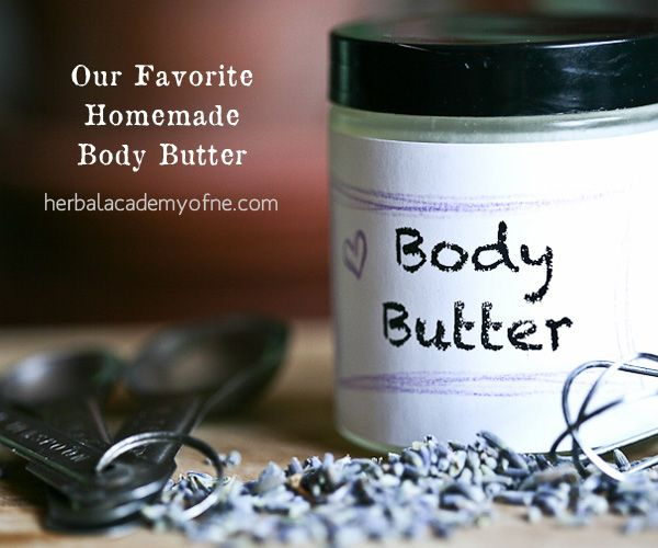 Favorite Homemade Body Butter. Christmas gift?