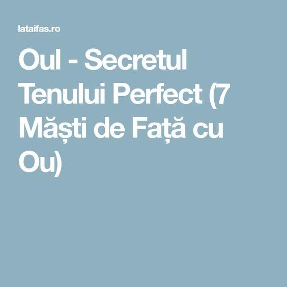 Oul - Secretul Tenului Perfect (7 Măști de Față cu Ou)