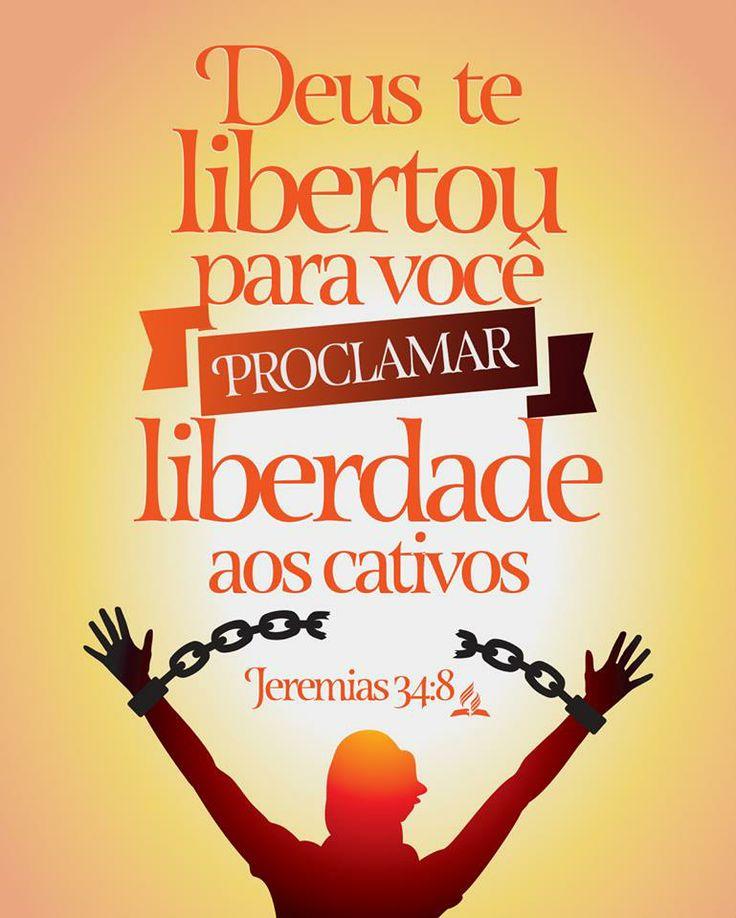A palavra que do Senhor veio a Jeremias, depois que o rei Zedequias fez aliança com todo o povo que havia em Jerusalém, para lhes apregoar a liberdade; Jeremias 34:8