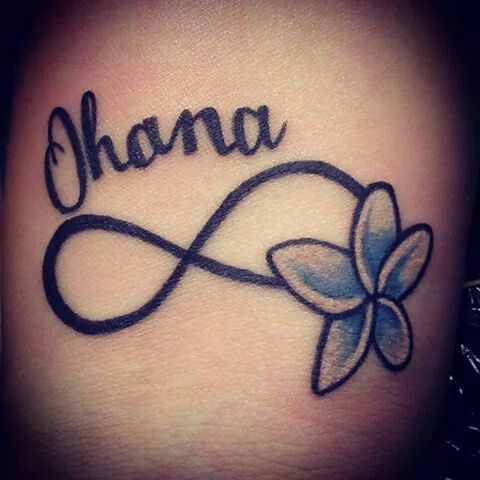 29 best tattoos by pam images on pinterest body jewelry for Ohana infinity tattoo