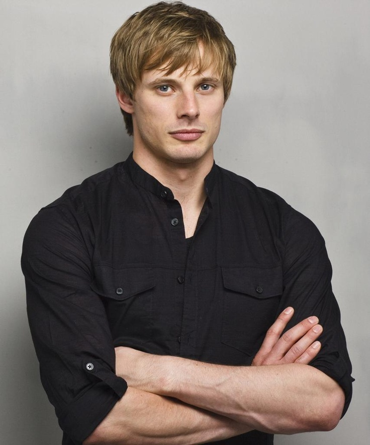 Bradley James - British Actor (known for Prince/King Arthur in Merlin) ... he certainly has perfect symmetry ;)