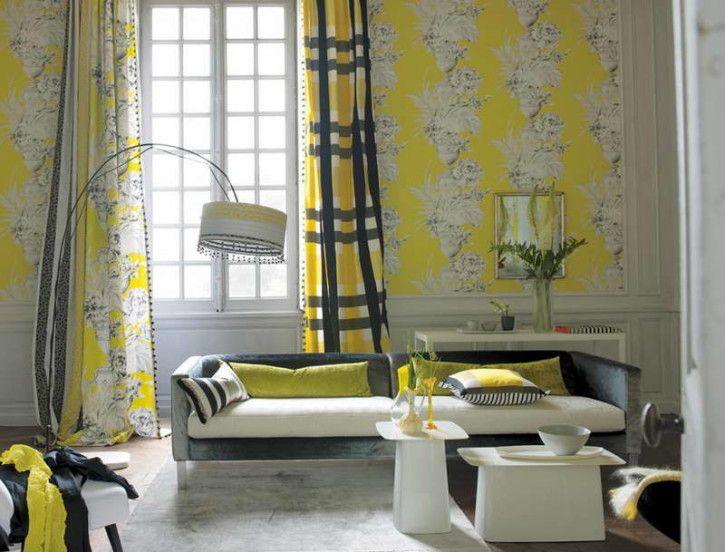 Mid Century Modern Window Treatments With Wallpaper Mid Century Modern Window Treatments Decoration