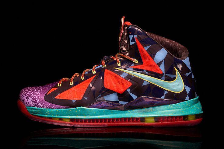 Image of Nike Marks Lebron Jamess MVP Title with the Lebron X MVP Shoe