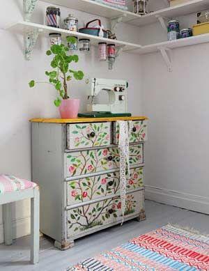 Encantadora habitación de costura | Portaldelabores.com | Portal de labores