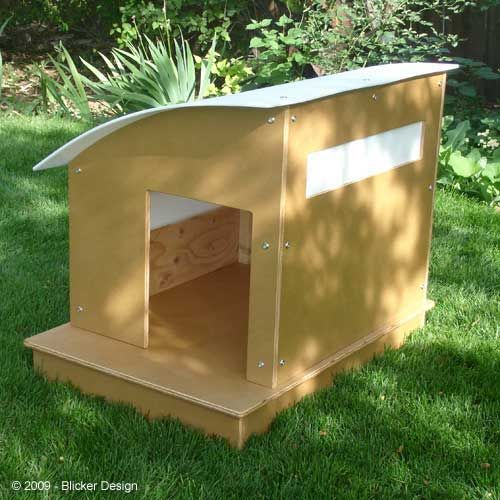 curved roof dog house doghouses dogkennels dog
