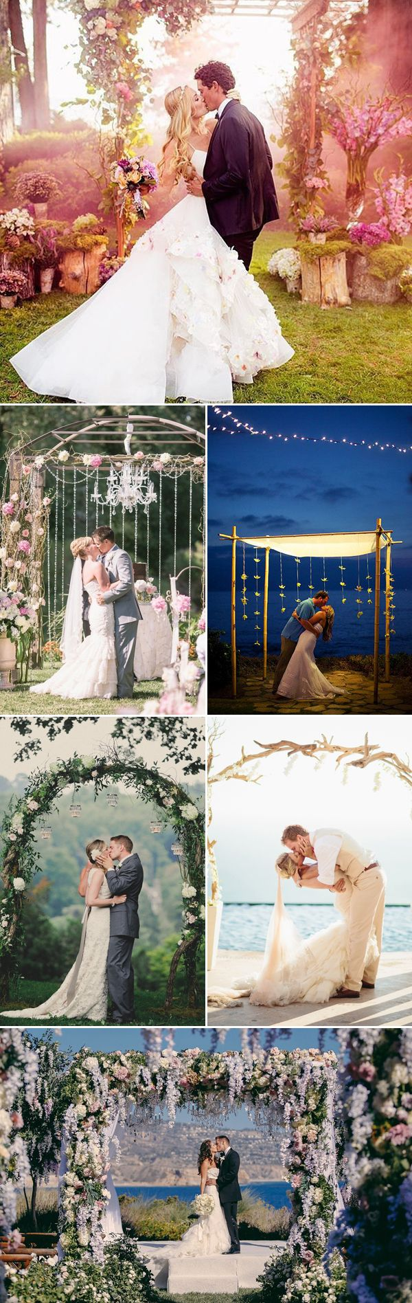 20 Beautiful Wedding Altars That Set the Scene for Romantic Moments!