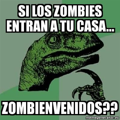 I didn't really get it until I read it out loud  #filosoraptor #humor en español