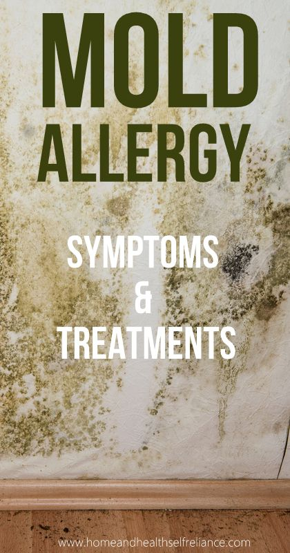Mold allergies symptoms hives