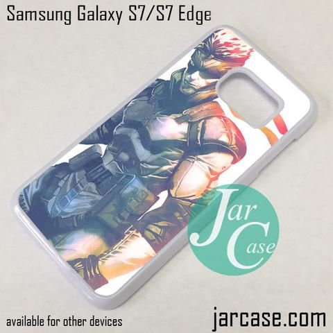 Snake Metal Gear Solid Phone Case for Samsung Galaxy S7 & S7 Edge