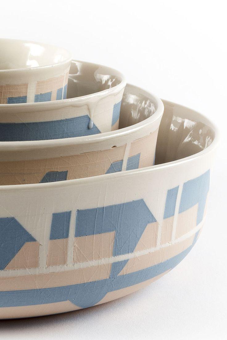 Céramique texturée