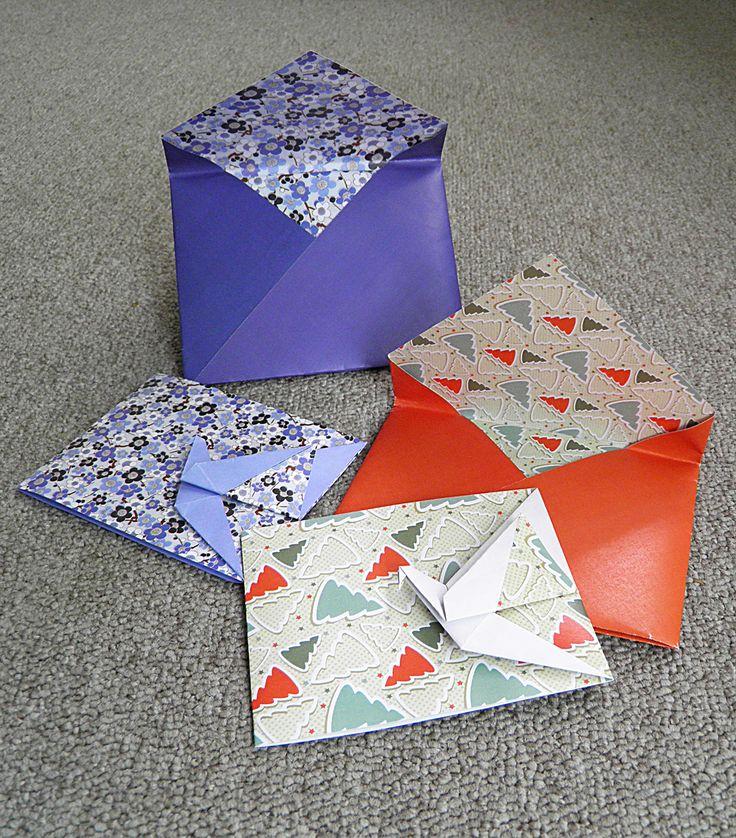 Осенние, оригами и открытки