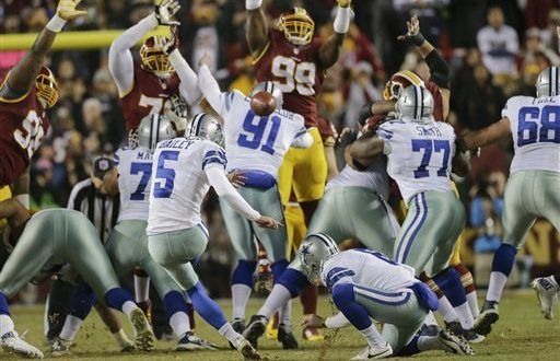 Cowboys vs. Packers on Sunday NFL Game
