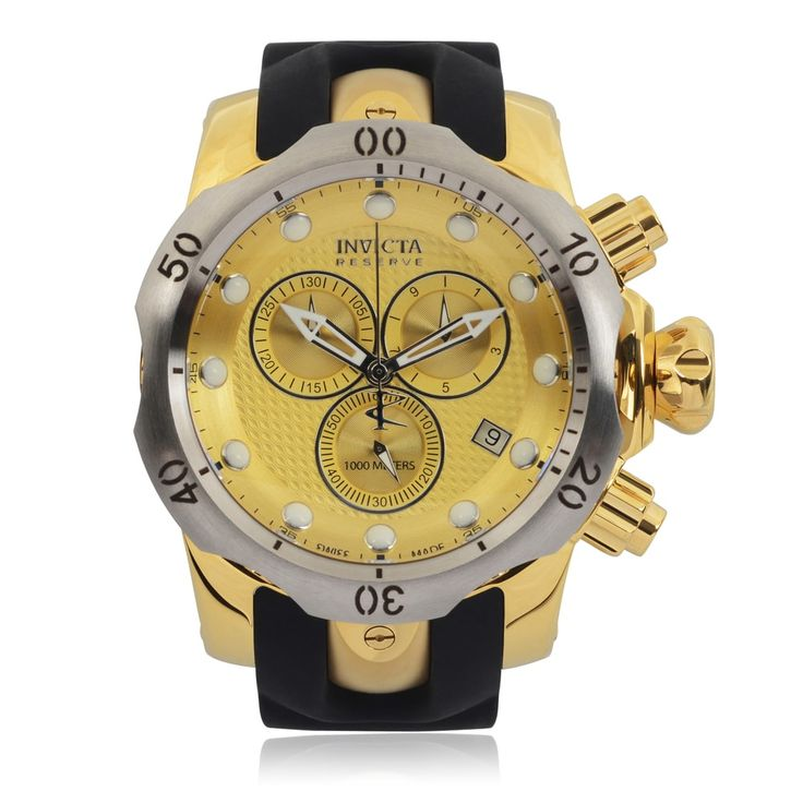 Invicta Men'S 16151 'Venom' Chronograph Quartz Watch   Overstock.com Shopping - The Best Deals on Invicta Men's Watches