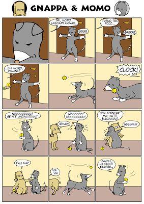 Gnappa&Momo: Non andare!