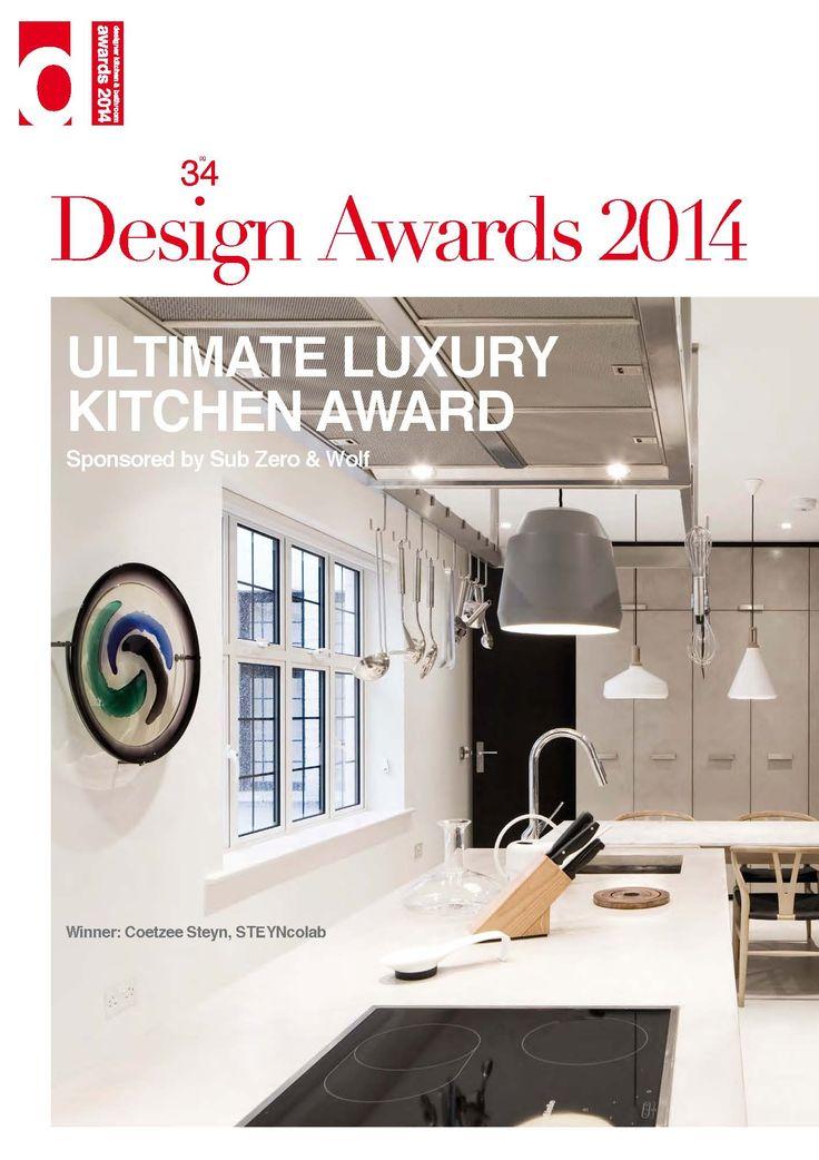 Ultimate Luxury Kitchen Award DesignerAwards14 DesignerKBmag Designerkbmagcouk