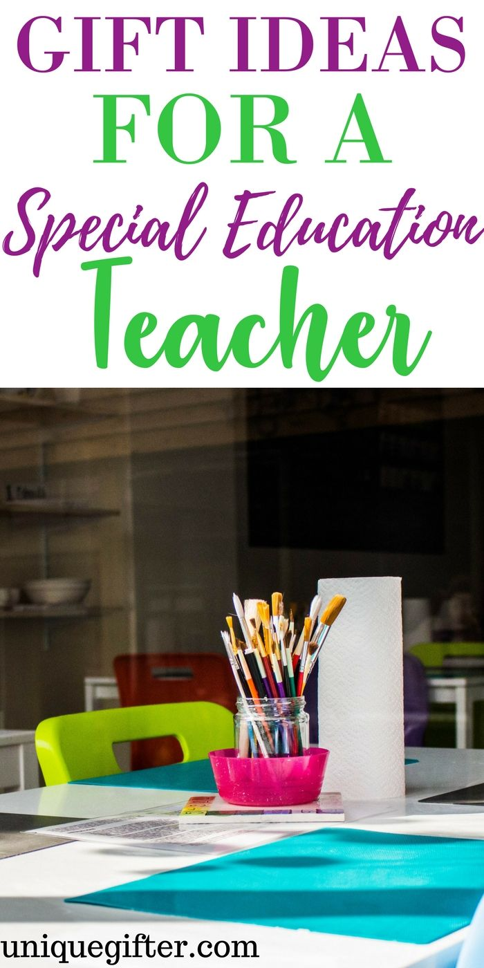 Gift Ideas For A Special Education Teacher Christmas Presents Teachers Speced Thank You Gifts Ways To
