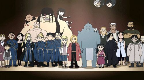 What even was this cast? | Fullmetal Alchemist Brotherhood | #FMAB | #anime | (gif)