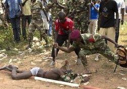 کجایند مدعیان حقوق بشـــــــر مرگ به جرم مسلمانی در افریقا