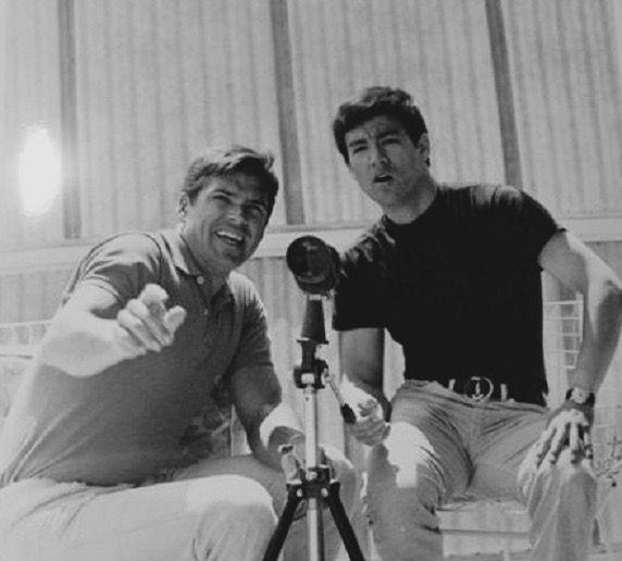 Bruce Lee with Van Williams