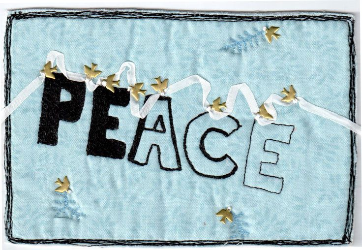 Peace is the ultimate souvenir, fleeting always out of reach..by Andrea Taylor
