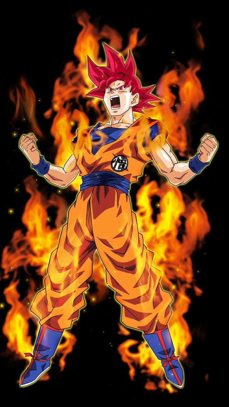 Goku - Super SAIYAJIN Dios Rojo - DRAGÓN BALL SUPER