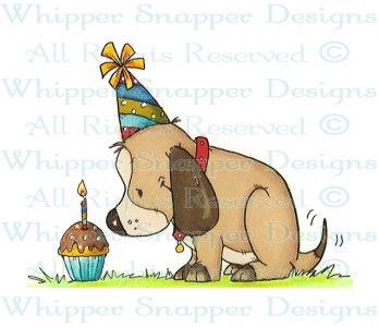 Cleo's Birthday - Spring/Summer 2014 - Rubber Stamps - Shop