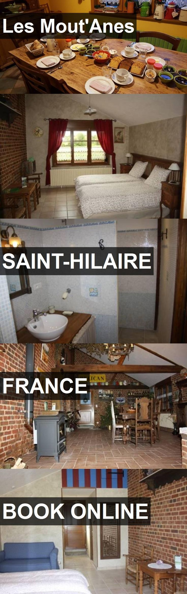 Hotel Les Mout'Anes in Saint-Hilaire, France. For more information, photos, reviews and best prices please follow the link. #France #Saint-Hilaire #hotel #travel #vacation