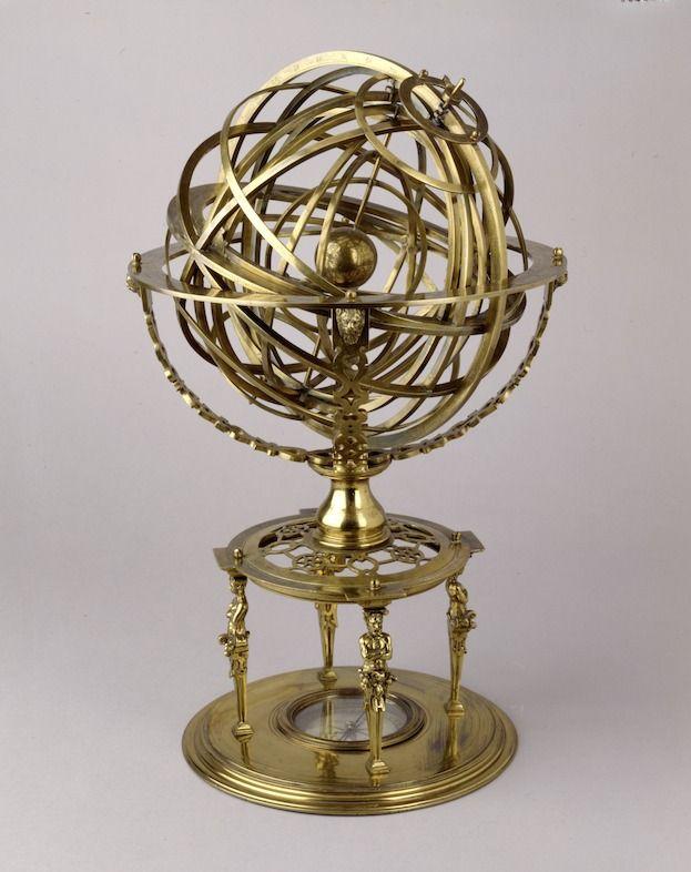 Sphère armillaire, Louvain, 1573, Bayerisches Nationalmuseum, Munich © À la recherche d'Utopia