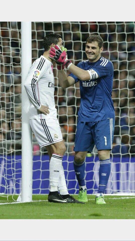 Cristiano Ronaldo & Iker Casillas