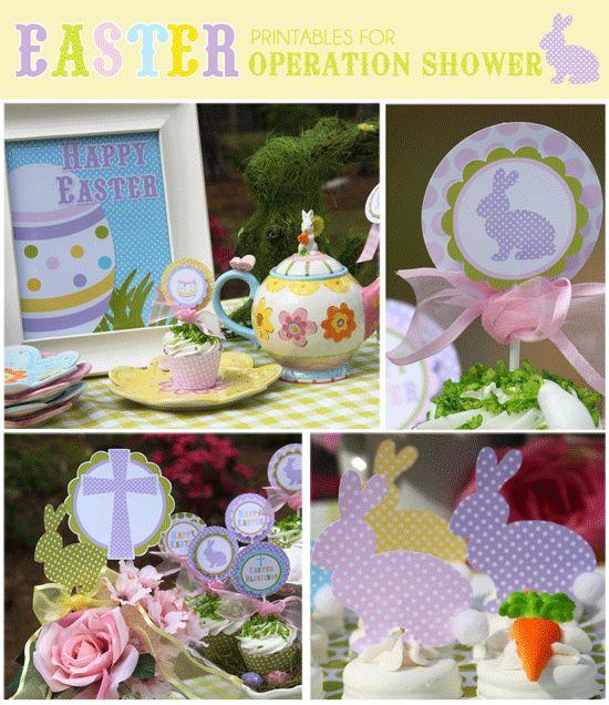 Free Easter Printable set