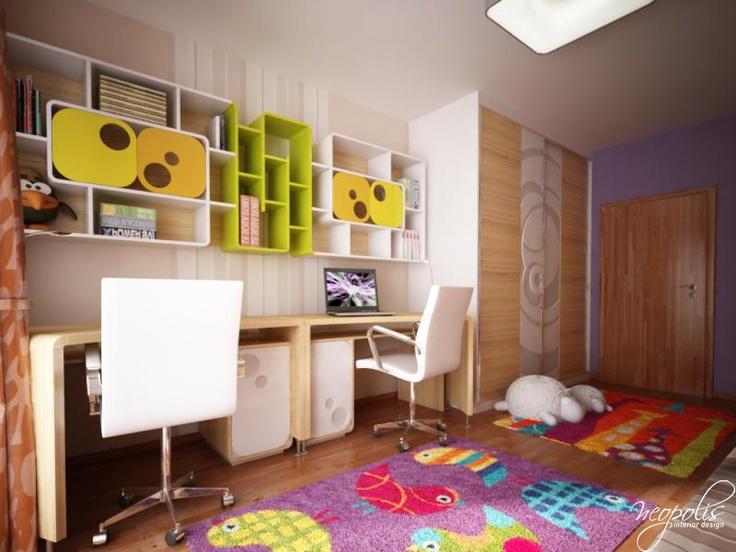 Beautiful Design By Vierka Dorcakova, Neopolis. Childrens Bedroom ... Ideas