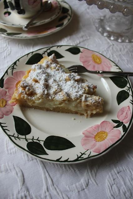 Streuselkuchen mit Pudding *