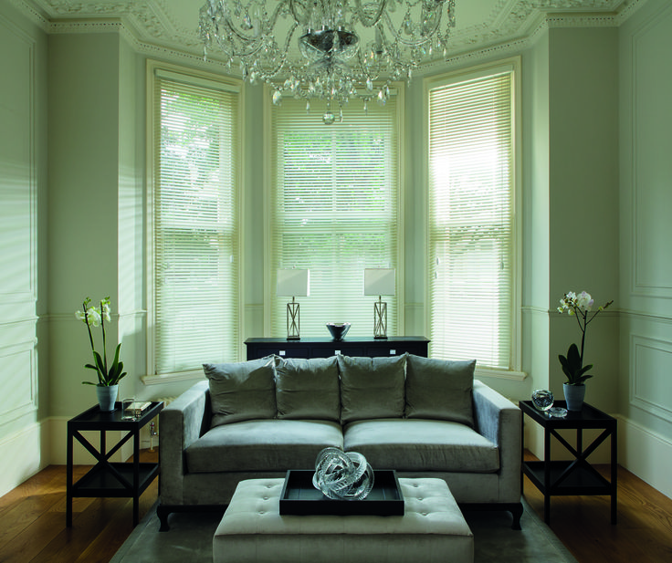 Clover and Thorne Venetians Soft White