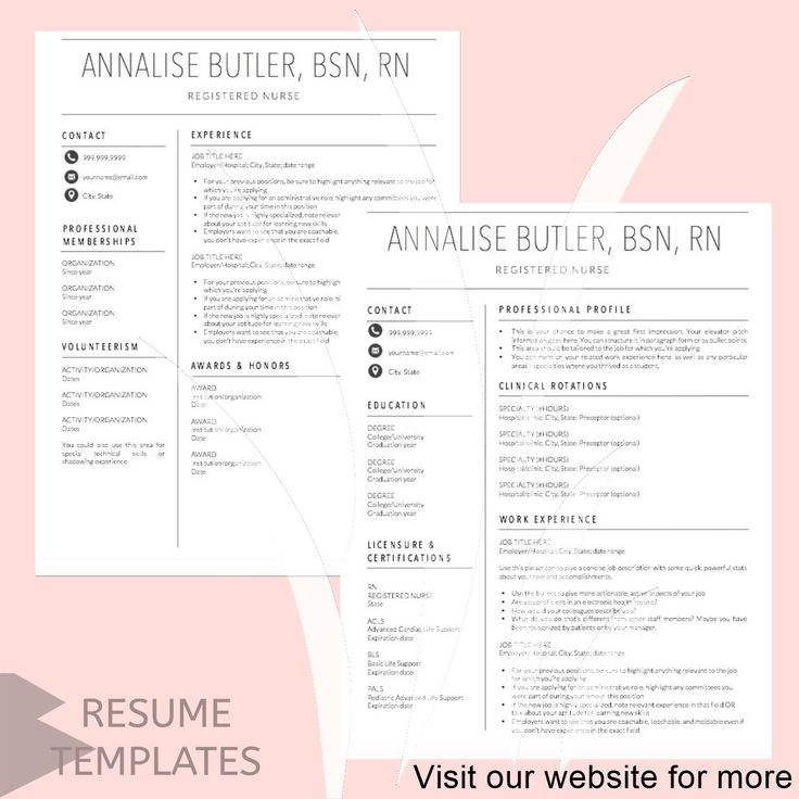 resume template free word Best 2020 in 2020 Resume