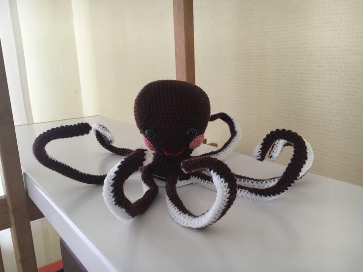 Gehaakte octopus van Jeaniehugs 15€