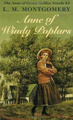 ANNE OF WINDY POPLARS (Anne of Green Gables) by L.M. Montgomery - http://www.amazon.com/gp/product/0553213164/ref=cm_sw_r_pi_alp_Hs4Xqb0ZFQ7PY