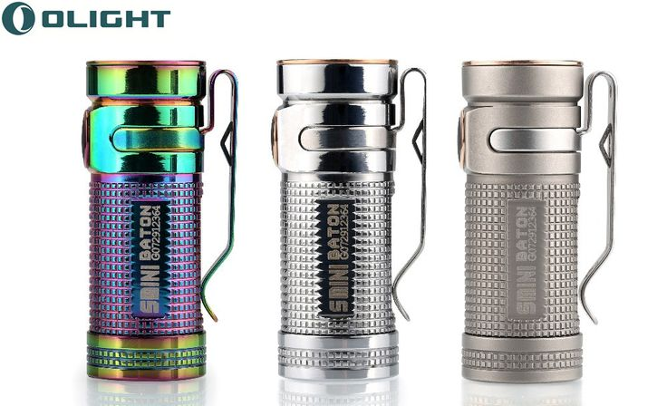Olight mini led flashlight SMIN-TI Limited version 550 Lumens Cree XM-L2 LED torches Side Switch Portable lighting flashlight(China (Mainland))