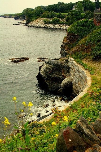Cliff Walk Newport Ri Places I 39 D Love To See Pinterest Mansions Rhode Island And Beautiful