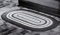 Crocheted Oval Rug Pattern