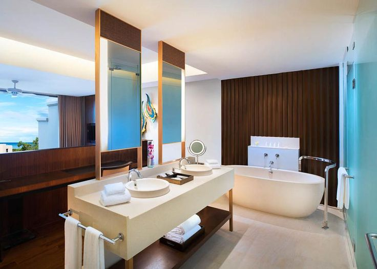 Classic Pool Suite Bathroom at the Vana Belle Koh Samui in Thailand
