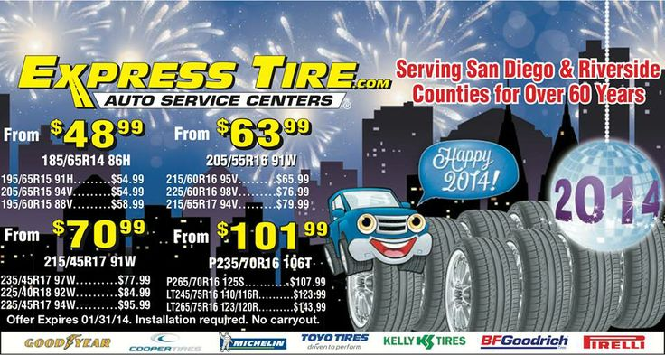 Express tire coupons