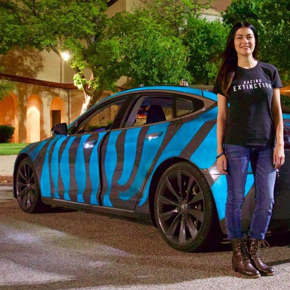 A Tesla owner and professional race car driver shows her support read more about the Tesla Model S superstar Leilani Münter  click the link in our bio for access. _____________________________ #tesla #teslas #tsla #teslamotors #teslamodels #teslamodelx #teslamodel3 #teslaroadster #teslasupercharger #P85D #teslalife #teslaowner #teslacar #teslacars #teslaenergy #powerwall #gigafactory #elonmusk #spacex #solarcity #scty #electricvehicle #electriccar #EV #evannex #teslagigafactory…