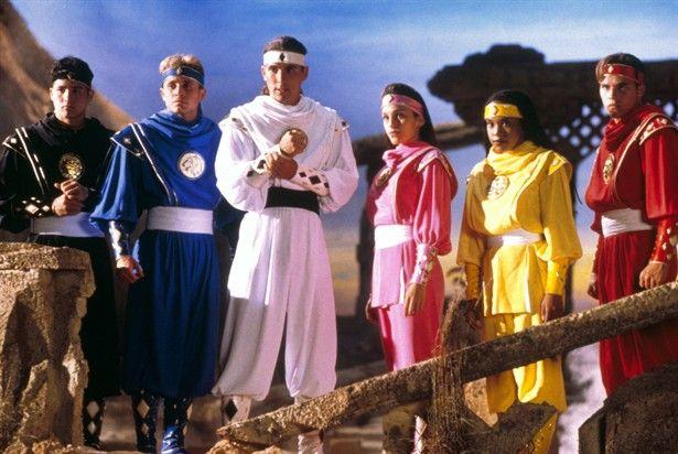 MMPR movie - ninjai powers~