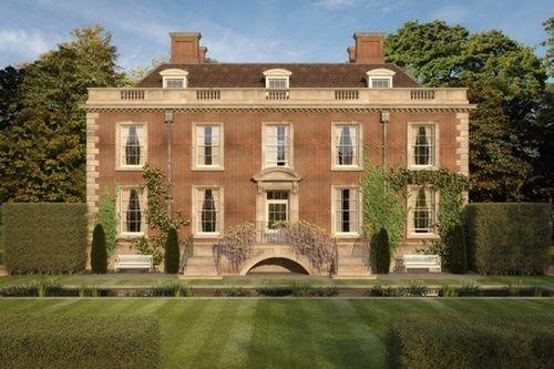 Proposal for a new (!!!) Georgian home in Lymington, Hampshire, England by Ben Pentreath & Associates.